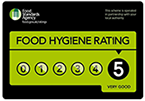 The Chipped Potato was awarded a 5 star Food Hygiene Rating
