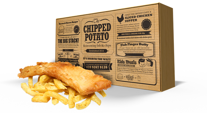 Fish Supper at the Chipped Potato