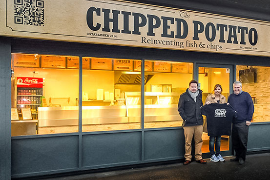 The Chipped Potato, Traditional Fish & Chips, Knockmore, Lisburn